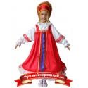 Русский народный девочка 1