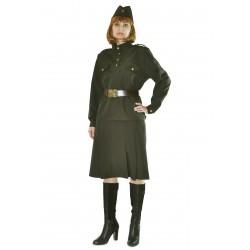 Военный костюм женский