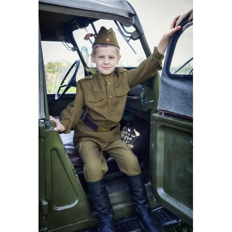 Военная форма для мальчиков. Солдат.
