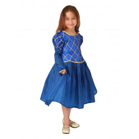 Принцесса синяя