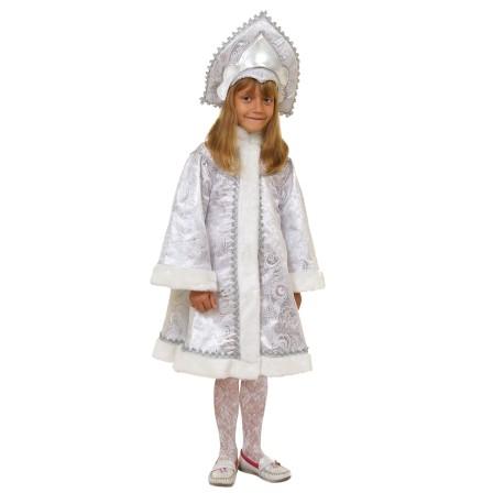 Снегурочка-девочка (серебро)