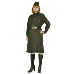 Военный костюм женский. Солдатка