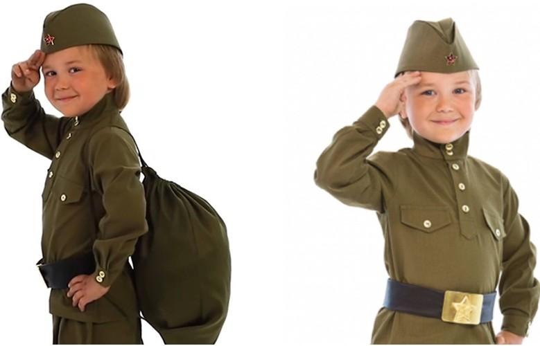 военные костюмы для детей и взрослых